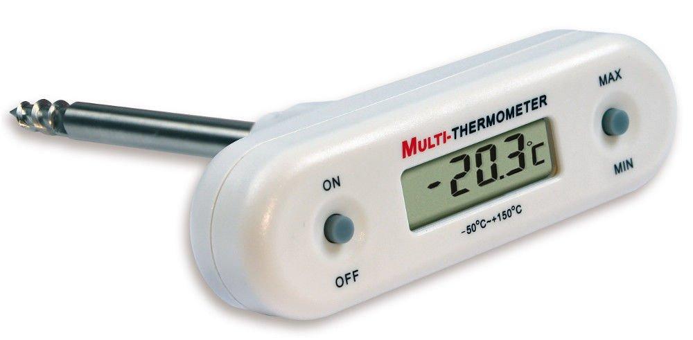 TFA Thermometer mit Fü hler 30, 1056, 02 Digital 30.1056.02