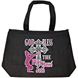 Ballet Dancer God Bless The Plie Chasse Jete - Tote Bag With Zip