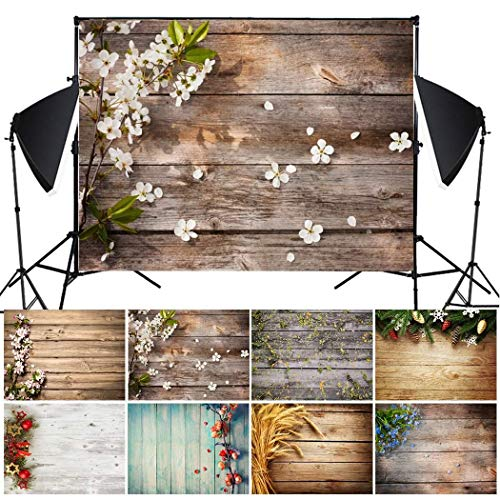 - Suines Imitation Wood Grain Photography Props 3D Photo Background Cloth Presentation Pointers