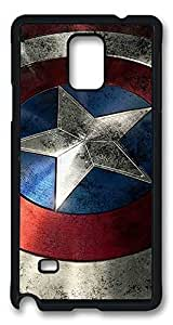 galaxy note 4 case,custom Samsung galaxy note 4 case, Captain America Shield I diy Samsung galaxy note 4 case,pc Material,Drop Protection,Shock Absorbent hjbrhga1544