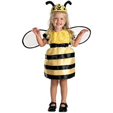Girls and Toddler Queen Bee Costume - Toddler by Disguise  sc 1 st  Amazon.com & Amazon.com: Girls and Toddler Queen Bee Costume - Toddler by ...