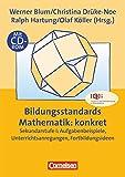 Praxisbuch: Bildungsstandards Mathematik: konkret - Sekundarstufe I mit CD-ROM