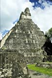 Pyramid in Tikal Mayan Citadel in Guatemala Journal: 150 Page Lined Notebook/Diary