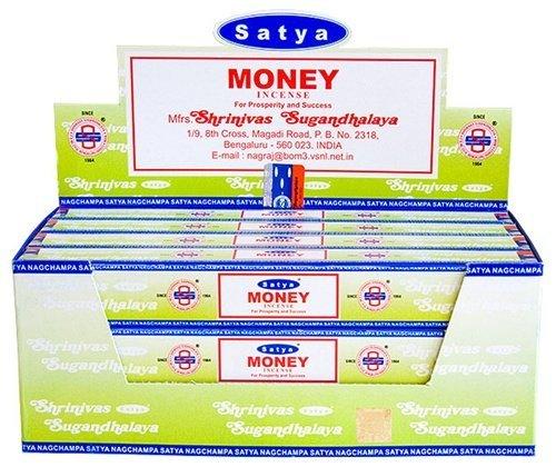 (Satya Money - Twelve 15 Gram Boxes - Satya Sai Baba)