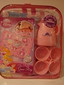 Amazon Com Disney Princess Tea Party Service For 4 Game