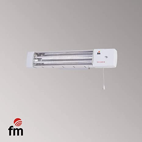 FM Radiador Estufa Baño 1200W