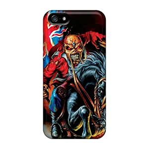Bumper Hard Phone Case For Apple Iphone 5/5s With Provide Private Custom High-definition Lordi Band Pattern SherriFakhry