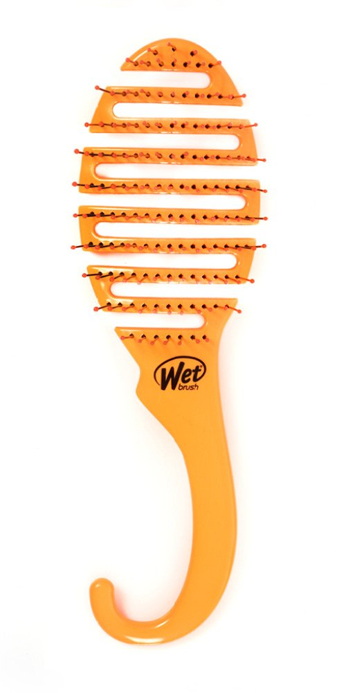 Wet Brush Shower Flex Hair Brush, Orange, 3.3 Ounce