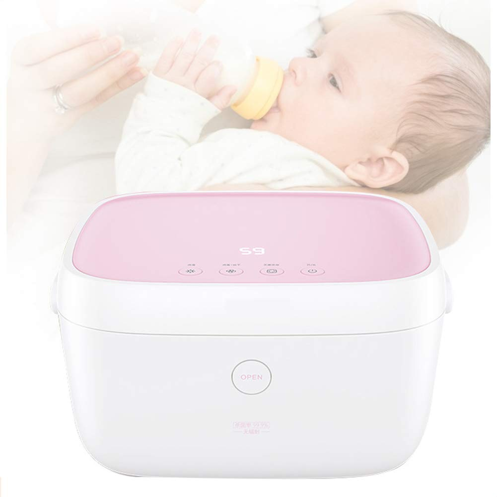 XHN 59 Seconds Bottle sterilizer with Drying Two in one UV Baby Disinfection Cabinet Household Small Sterilization Pot by XHN