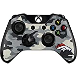 Skinit NFL Denver Broncos Xbox One Controller Skin - Denver Broncos Camo Design - Ultra Thin, Lightweight Vinyl Decal Protection