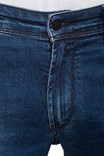Nova Uomo Straight Ii grigio Vintage Blu Jeans Reell Fit H5qOFI7B