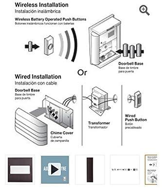 Hampton Bay Wireless or Wired Door Bell