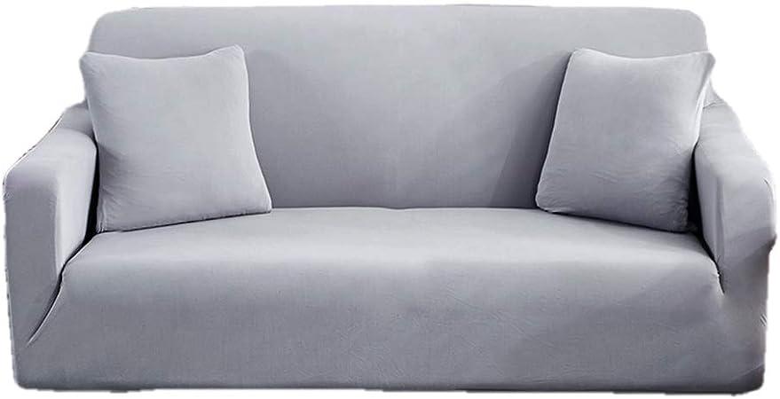 Funda Sofá 2 Plazas, Cojín del Sofá Cuatro Tela De Algodón Y Ropa De Temporadas Universal Sofá Simple De La Cubierta Moderna (Color : H, Size : 145-185cm(57-73inch)): Amazon.es: Hogar