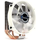 amd cup cooler - Thermolab New 2018 Trinity White CUP Cooler with Low Noise 130mm White LED Fan
