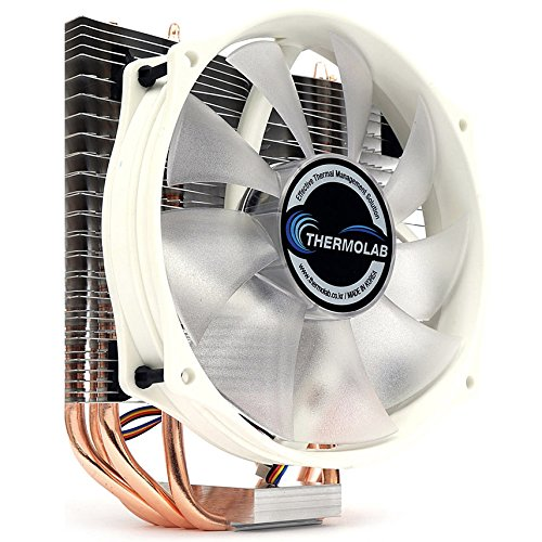 Price comparison product image Thermolab New 2018 Trinity White CUP Cooler with Low Noise 130mm White LED Fan