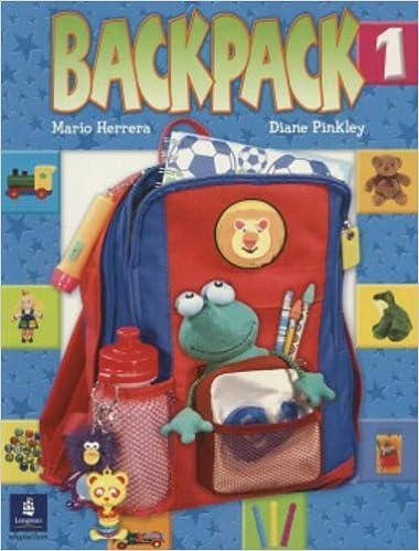 Backpack, Level 1 (Bk  1): HERRERA: 9780131826793: Amazon com: Books