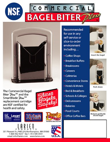 Larien Commercial Bagel Slicer