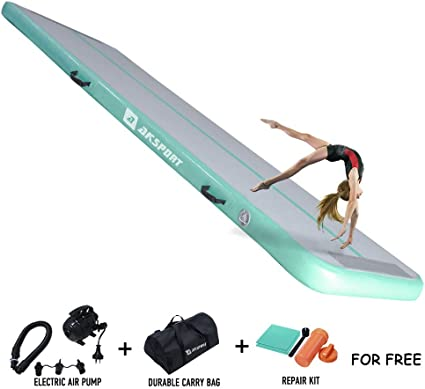 Air Track 1M Airtrack Inflatable Tumbling Gymnastics Mat Training