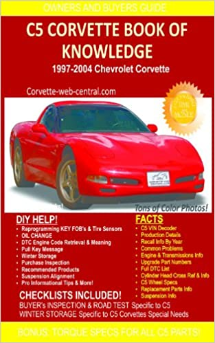 Download online C5 Corvette Book of Knowledge PDF, azw (Kindle), ePub