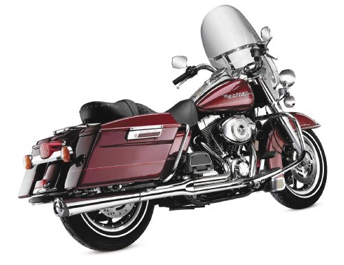 1 Supermeg Exhaust (SuperTrapp 2-Into-1 Supermeg Exhaust System - Chrome , Color: Chrome)