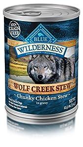 Wilderness Blue Buffalo High Protein Wet Adult Dog Food