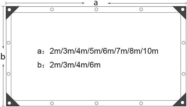 YXLZ Sunshade Net, Tela de Sombra, 2 * 2 M (6.5ft * 6.5ft) Sun Net En Verde Y Blanco, ProteccióN contra Rayos Ultravioleta del 75%, para Invernaderos, Casetas para Mascotas Y áRea