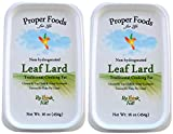 100% Pure Pork Leaf Lard - Non-Hydrogenated - Pasture Raised - For Cooking, Baking and Frying - One Pound Tub (16 oz) - by Proper Foods (Pack of 2)
