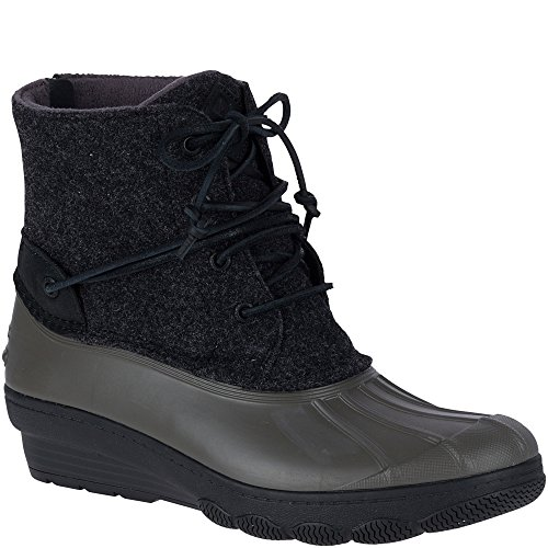 Sperry Top-Sider Saltwater Wedge Tide Wool Duck Boot (Top Sider Wedge Sperry Boot)