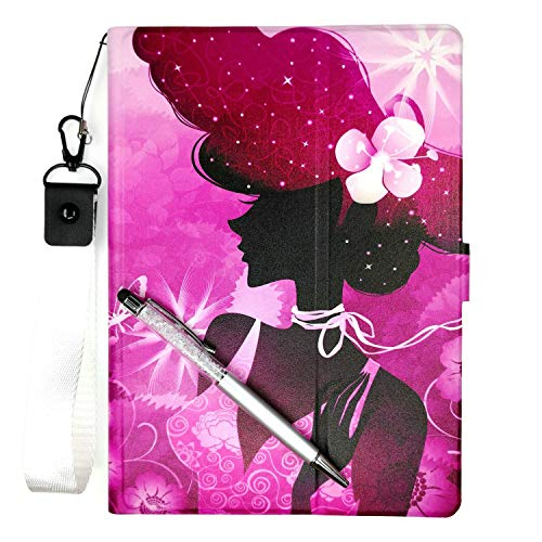 - Lovewlb Tablet Case for Medion Lifetab P970x P970 Case Stand PU Leather Cover SN