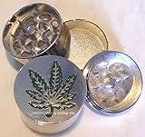 Best Weed Grinders - HERB GRINDER Large Pot Weed Leaf Metal Magnetic Review