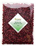 Dried Barberries 1kg Natural Raw & Premium Quality Barberry, a Great Dried Cranberries Alternat