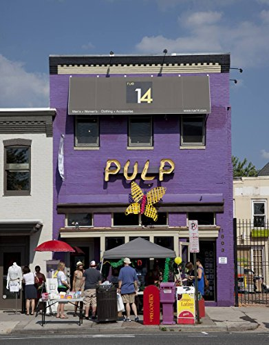Photograph - Pulp Restaurant, 14th St, NW, Washington, D.C.- Fine Art Photo Reporduction 44in x 55in