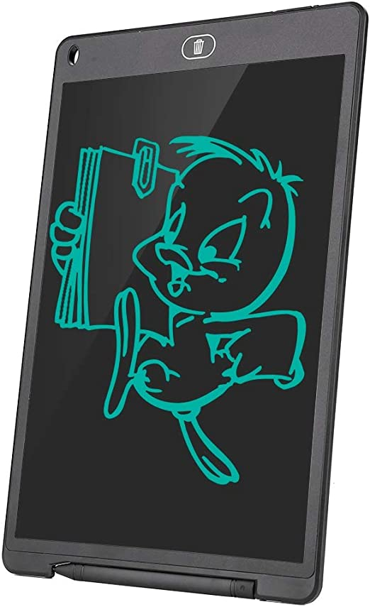 12.0インチの描画ボード、手書きタブレット、超薄型ポータブルLCDライティングボード手書きボード、子供用バッテリー付きメモ用ドラフト