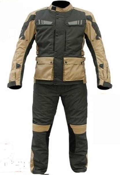 Conjunto de Moto StayDry –Chaqueta y pantalón térmico e impermeable con refuerzos a las normas