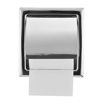 Porta Carta Igienica A Scomparsa.Kreema Porta Carta Igienica In Acciaio Inox Lucido A Parete A