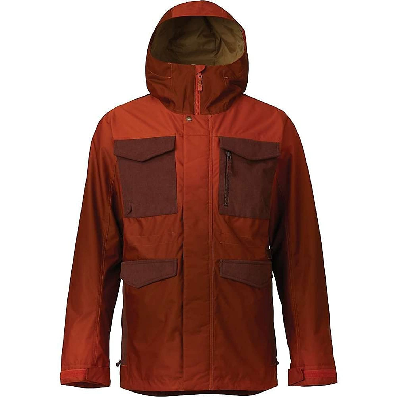 (バートン) Burton メンズ スキースノーボード アウター Covert Shell Jacket [並行輸入品] B07CJFLSJS  XS