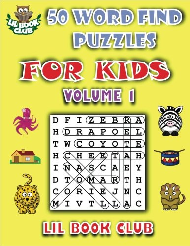 50 Word Find Puzzles Kids product image