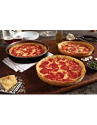 6 Lou Malnati's Chicago-style Deep Dish Pizzas (3 Sausage & 3 Pepperoni)