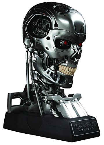 Terminator Genisys Endoskeleton Skull 1/1 Replica