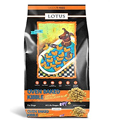 Lotus Dry Dog Food, 20 Lb, Duck And Sweet Potato