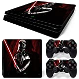 GoldenDeal PS4 Slim Skin and DualShock 4 Skin – Star Warrior – PlayStation 4 Slim Vinyl Sticker for Console and Controller Skin Review
