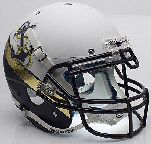 Schutt Navy Midshipmen Authentic College XP Football Helmet - NCAA Licensed - Navy Midshipmen Collectibles