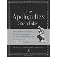 The Apologetics Study Bible: Understand Why You Believe (Black)