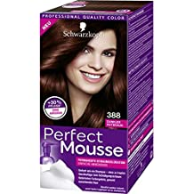 Schwarzkopf Perfect Mousse Permanent Hair Color 388 Dark Red Brown