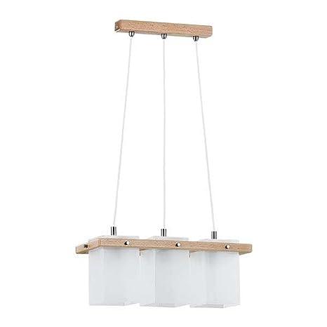Bauhaus - Lámpara de techo de 3 luces colgantes Profundidad ...