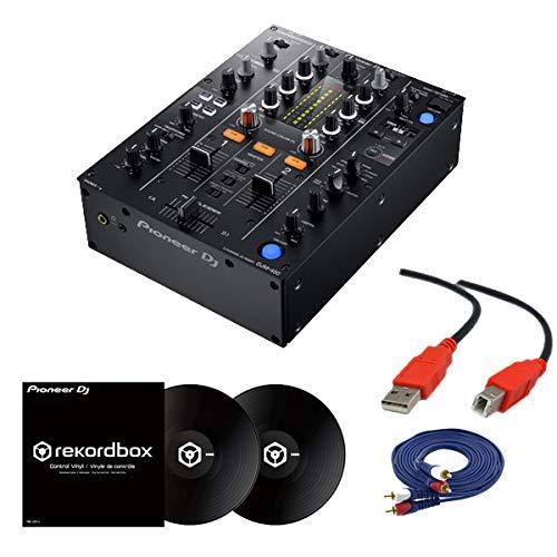 【2大特典】Pioneer DJ パイオニア/DJM-450 &コントロールバイナル(RB-VD1-K) DVS セット   B07NQ93SR2