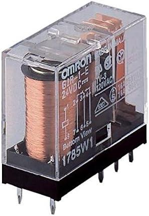 OMRON RELE 24VDC 16A 1ctos 2+6 Pin Paso 5,0mm 29x25x12mm G2R-1-E-24VDC