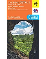 OS Explorer OL24 The Peak District (OS Explorer Map)
