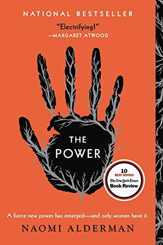 Book cover from The Power by Naomi Alderman
