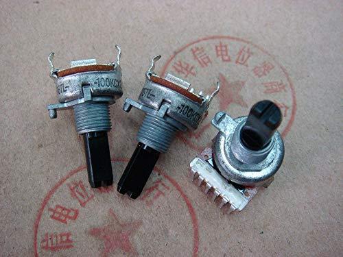 Xinini [SA]Marantz amplifier Korea original161 double potentiometer 100KCX2 with the midpoint of the vertical handle 20F C100K-10PCS/L
